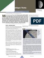 Antique Vesta Asteroid
