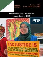 Dossier ESF 17 Financiación Desarrollo Post 2015