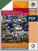 Modelo de Organización y Operación Del Proceso Capacitador