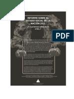 Informe Estado Social 2015