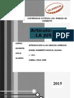 La Justicia ... Iker