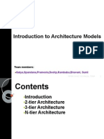 Introduction to Architecture Models