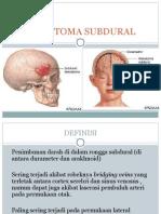 147726577 Hematoma Subdural Presentasi Kasus