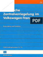 71 VW Transporter T3 Electric Central Locking