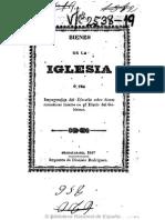 Bienes de La Iglesia (Guadalajara, 1847)