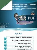 Corporate Finance Presentation Final