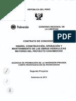 Segundo Proyecto Contrato Concesion Proy Chavimochic