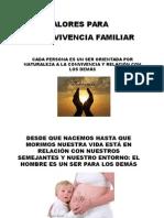 Valores Para La Convivencia Familiar