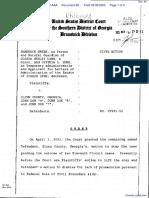 Green, et al v. Glynn County, GA, et al - Document No. 89