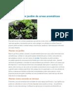 Como Criar Um Jardim de Ervas AromáTicas