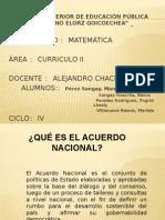 Acuerdo Nacional II