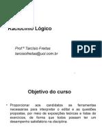 Raciocínio Lógico_aula 1