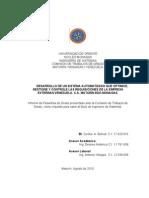 DESARROLLO DE UN SISTEMA AUTOMATIZADO QUE OPTIMICE, GESTIONE Y CONTROLE LAS REQUISICIONES DE LA EMPRESA EXTERRAN VENEZUELA, C.A. MATURÍN EDO MONAGAS.