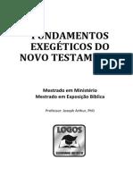 Apostila - FundExegNT 2015A Natal FINAL