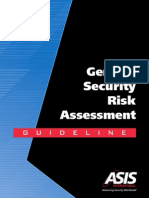 General Security Risk Assessment - Guideline