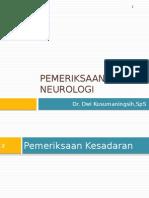 Pemeriksaan neurologi