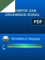 Kuliah Ke 5 Kelompok Dan Organisasi Sosial