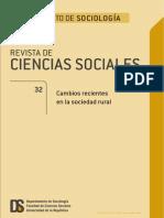 Cambios Recientes en La Sociedad Rural