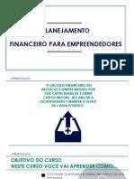 Slides Do Curso de Planejamento Financeiro