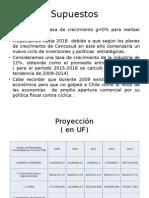 Supuestos y Proyeccion