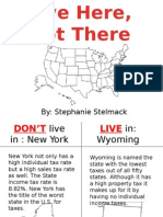 live here not there