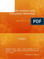 Results Analysis and Discussion Workshop