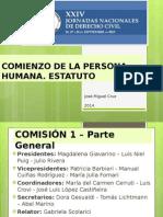 Conclusiones Parte General y Estudiantes - XXIV Jornadas Nacionales de Derecho Civil