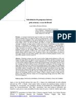 Substituiçao Da Poupança interna pela externa - Brasil