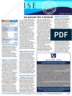 Cruise Weekly for Tue 16 Jun 2015 - Carnival going green, P&O to Timor, Ovation close, G Adventures, Grand Circle buy and much more