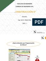 Construcción II - Programación y Productividad