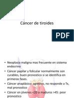 Cáncer de Tiroides Bien Diferenciado (1)