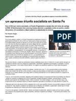 Un ApretadUn apretado triunfo socialista en Santa Feo Triunfo Socialista en Santa Fe