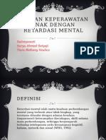 Pp Retardasi Mental