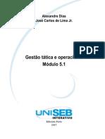 Gestão tática e operacional Módulo 5.1