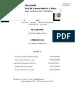 Informe de la Ley del Patrimonio Cultural.docx