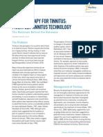 Tinnitus White Paper
