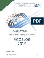 Plan de Trabajo 2010 Club Aggelos
