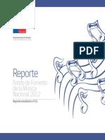Reporte Musica 2012