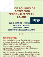 Uso de Equipos de Proteccion Personal(Epp) En