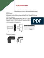 Conexiones HDPE
