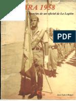 Sahara, 1958. Vivencias de Un Oficial de La Legión - José Falcó
