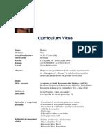 CV Matciac Vlad