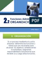 ADA 2.2 Organización