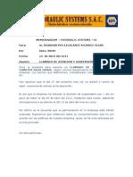 Carta de Amonestacion de Suspension de Labores