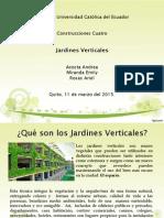 Jardines Verticales Presentacion Acosta,Miranda,Rosas