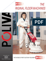 Polivac PV25 C25 C27 C27RS A23 SuctionPolisher