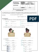 Matemáticas 5 - Guía 3