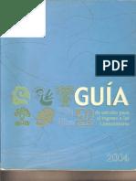 Guia.2 PARTE Ingreso  Antropologia Social ENAH