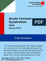 Acute Coronary Syndromes 2015