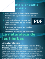 Presentacion Modulo I Herbolaria Planetaria